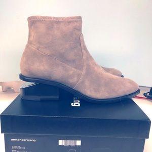 Alexander Wang Kori Suede Boots - Brand New